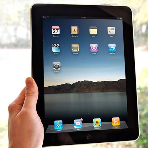 Первый iPad - официальный анонс