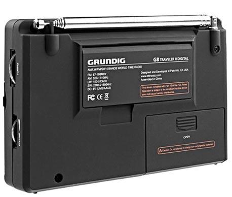 Радиоприемник Grundig G8 - обзор особенностей