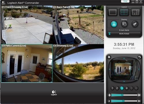 Электронная система охраны и наблюдения Logitech Alert 750i-Master - обзор