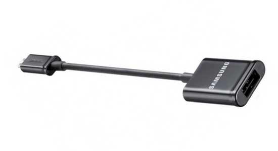 аксессуары для samsung galaxy note - адаптер MicroUSB на USB