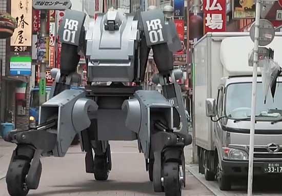 Самые дорогие аксессуары для смартфонов - робот Kuratas