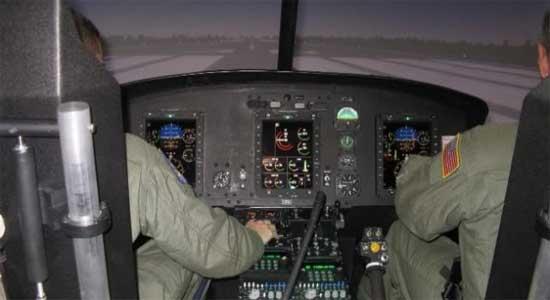 США - Военный авиатренажор производсва CSC