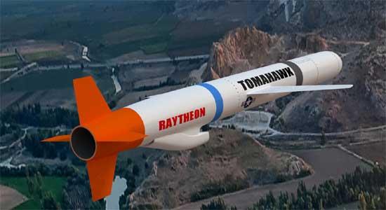 США - Крылатая ракета BGM-109 Tomahawk производства Raytheon