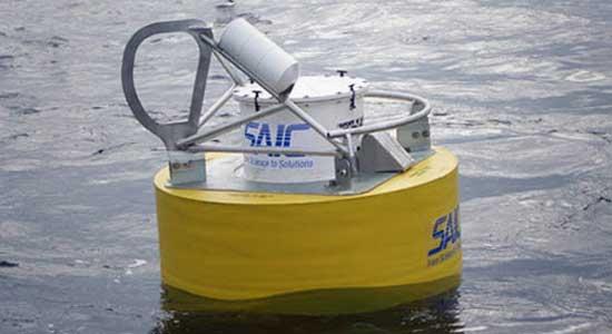 США - Плавучий буй системы обнаружения подводных лодок SAIC