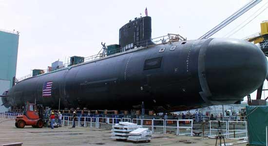 "США - АПЛ класса ""Virginia"" на стапелях General Dynamics Corp"