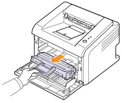 Как заменить картридж ML 2010D3 в принтере Samsung