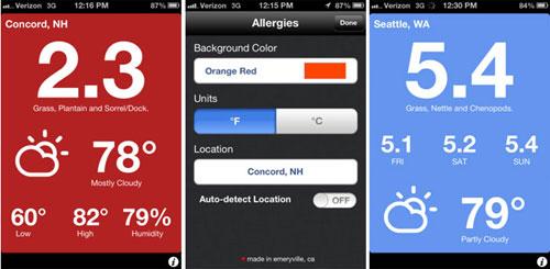Полезно: Allergies - мобильное iOS-приложение для аллергиков - обзор - где скачать