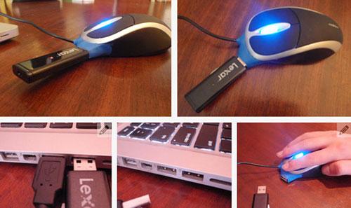 Компьютерная мышка флешка с USB-портом - где купить