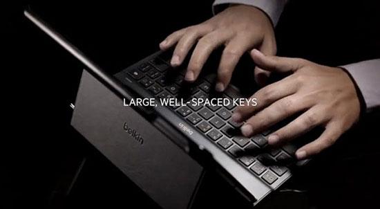 чехлы для айпад аир - Кейс с встроенной клавиатурой Belkin Qode Ultimate для iPad Air - обзор - цена