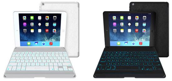 чехлы для айпад аир - ZAGGkeys Folio - чехол с клавиатурой для нового iPad Air - обзор