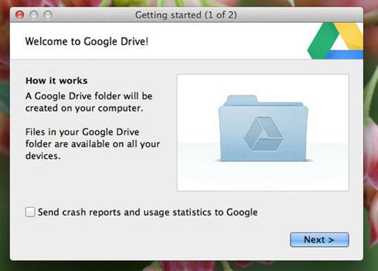 Возможности Google Drive - автоматический бэкап данных с iMac