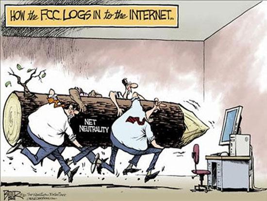 FCC отказывается от сетевого нейтралитета - общественность уже партизанит