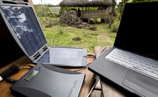Портативные противоударные ЗУ с солнечной батареей для мобильных устройств - солнечные зарядники