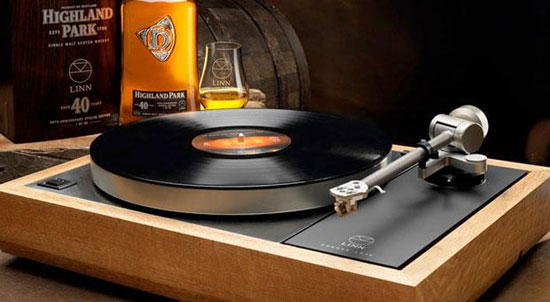 Проигрыватель виниловых пластинок Linn Sondek LP12 - винил