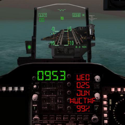 Посадка на авианосец с экранчика Samsung Gear S - циферблаты для android wear - где скачать и как установить