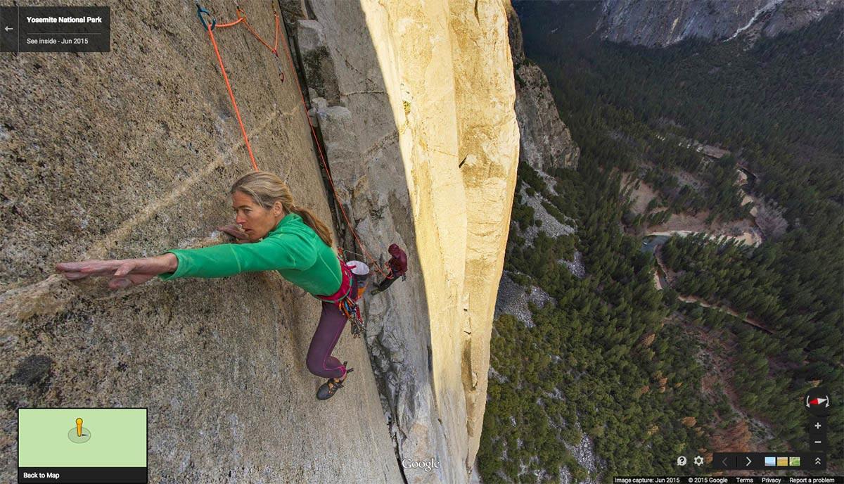 Street View для альпинистов - это надо видеть!