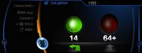 BMW EnLighten - персональный информатор по светофорам