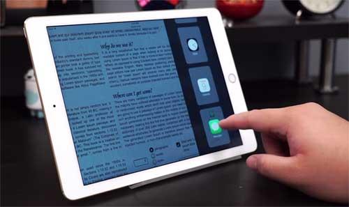 slide over - как включить на iPad эту фичу