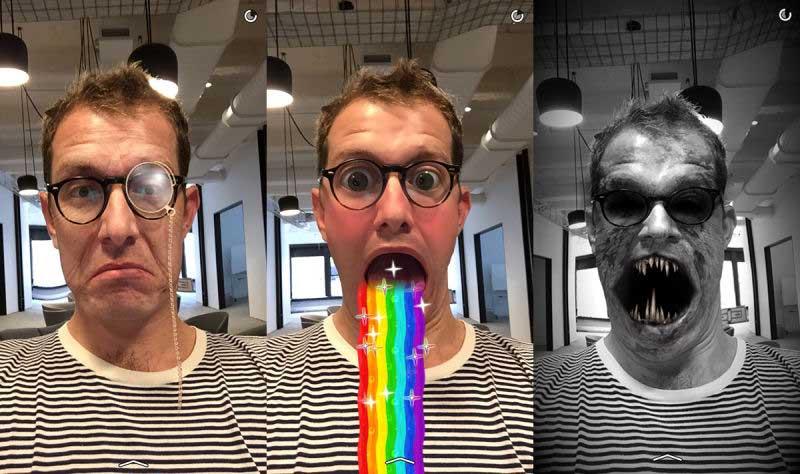обновить Snapchat на iOS или Android, и о том, почему обновление вроде как не получилось