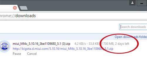 Developer ROM для Xiaomi Mi 4C с китайского сайта: юзайте менеджер закачек