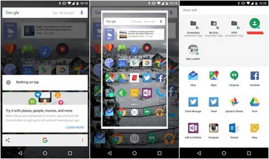 Об Android 6.0 на Lenovo и о том, как сделать скриншот с Google Now on Tap