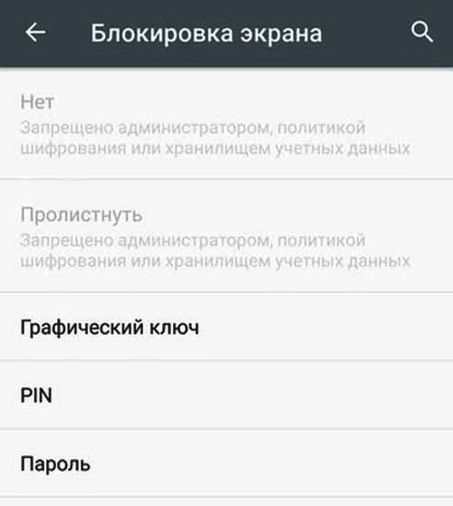 """""""Запрещено администратором"""": как устранить проблемку на Android-е"""