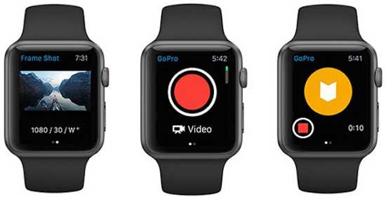 Как управлять GoPro через смарт-часы Apple Watch [видео]