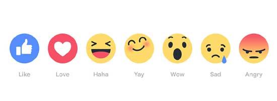 Facebook реакции: что это, где включаются и как ими пользоваться