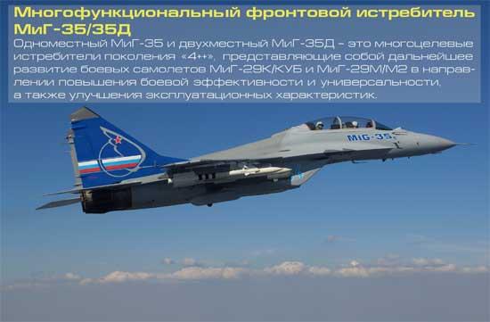 МиГ-35: представлена первая партия самолетов для лётных испытаний [видео]