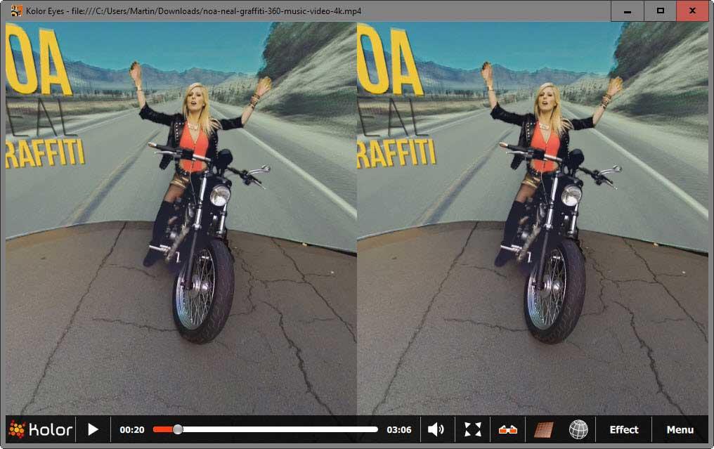 Посмотреть 3D VR видео в обычном 2D-режиме без очков и гарнитур?
