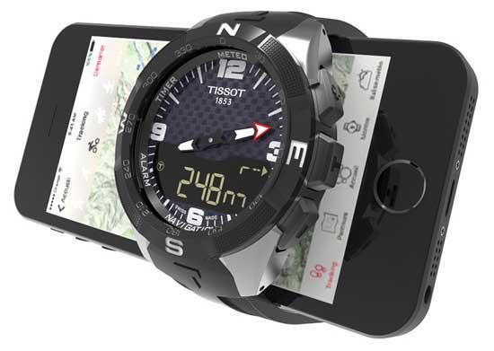 Tissot Smart-Touch назначены первыми смарт-часами Swatch [видео]