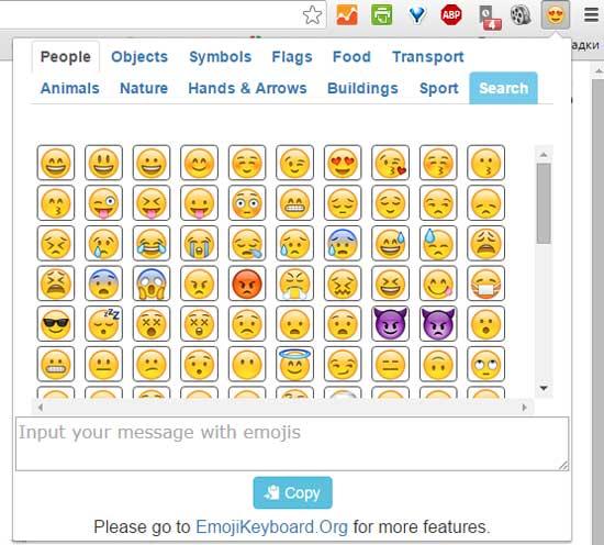 Настоящие emoji в браузере Chrome на Windows ПК: как включить