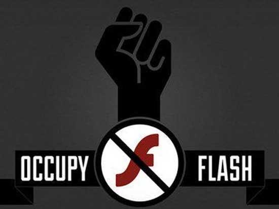 Блокирует Flash Player