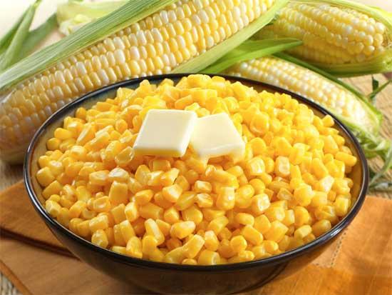 Плоды селекции или о том, как фрукты и овощи выглядели до знакомства с человеком [фото] - кукуруза