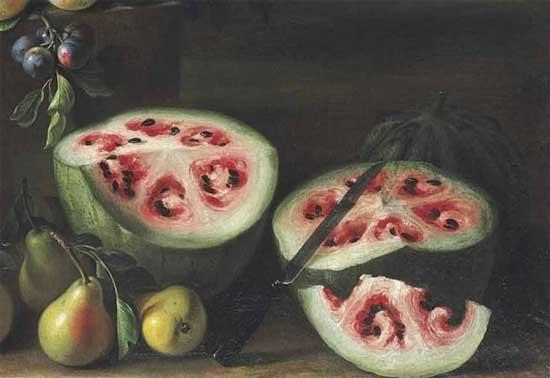 Плоды селекции или о том, как фрукты и овощи выглядели до знакомства с человеком [фото] - древний арбуз