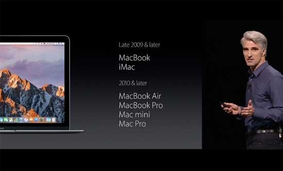 Новая MacOS: в каких Mac-ах она будет, а в каких - уже нет