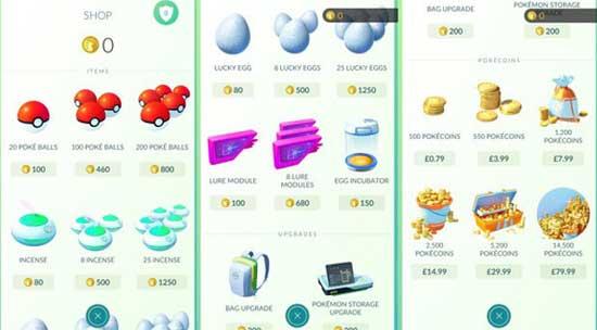 Покемонеты: что по чём в Pokemon Go, и как зарабатывать - #pokemongo