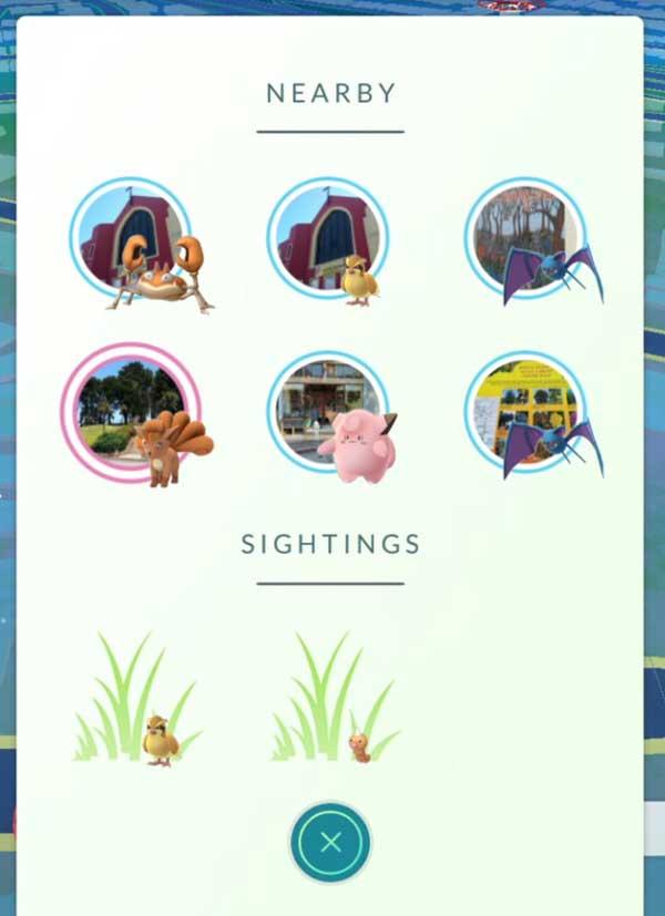 Апдейт Pokemon Go: новый радар Sightings, режим экономии батареи и пр - #pokemongo