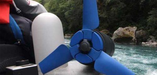 Estream — мобильный гидрогенератор-пауэрбанка туристического назначения [видео]