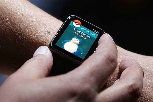 Pokemon Go на Apple Watch: как будет выглядеть приятное с полезным - #pokemongo