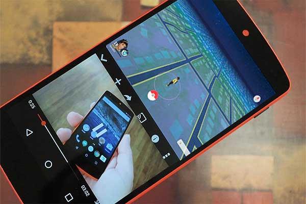 Pokemon Go на разделенном экране в Android 7.0: как это делается - #pokemongo