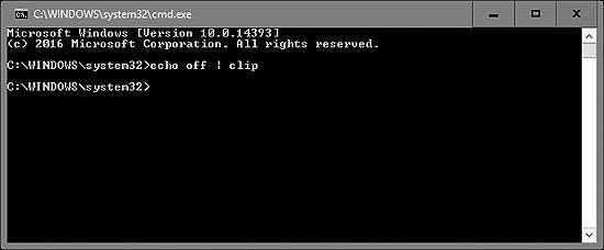 3 способа очистить буфер обмера (Clipboard) в Windows