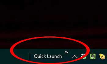 Панель быстрого запуска в #windows10 - как включить, настроить и выключить