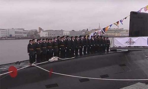ДЭПЛ «Колпино» вошла в боевой состав ВМФ России [видео]