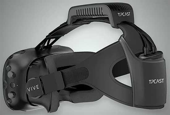 TPCAST - как будет выглядеть беспроводная VR-гарнитура #HTCvive [видео]