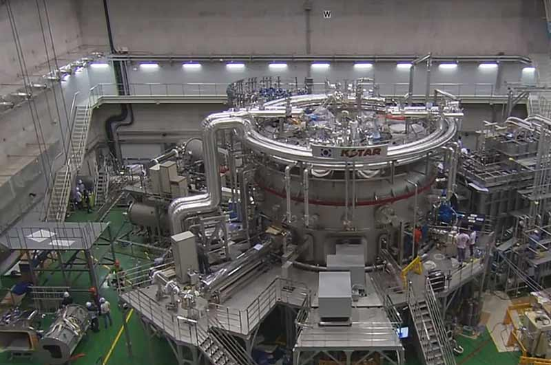 Новый рекорд удержания плазмы установлен на реакторе KSTAR - #KSTAR