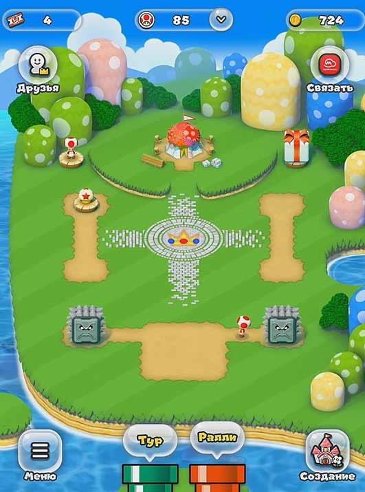Супер Марио Ран: как поменять персонажа в игре [видео] - #SuperMarioRun