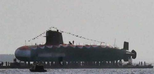 В Индии спустили на воду вторую НАПЛ класса Scorpene [видео]