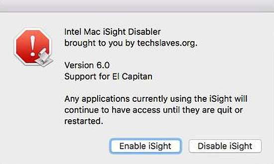 Как отключить камеру iSight - в #MacBook: во имя #privacy