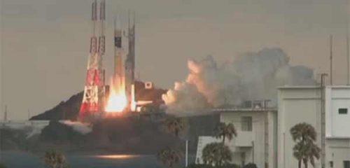 Япония успешно вывела на орбиту военный спутник Kirameki-2 [видео]